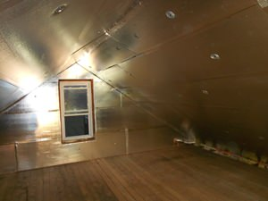 attic installation with SuperAttic Minnesota.