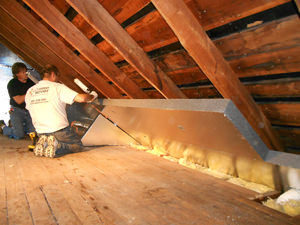 attic insulation system St. Paul & Minneapolis